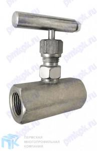 Клапан игольчатый стальной 15лс54бк