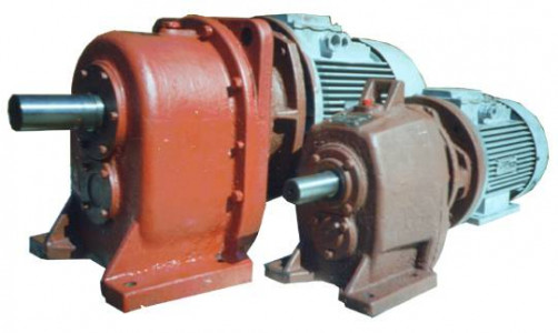 Мотор-редукторы цилиндрические двухступенчатые типа 1МРЦ2