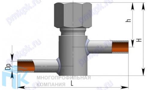 Клапан обратный и обратный затвор 3с-6-1-1