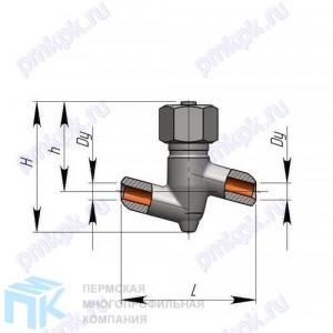 Клапан обратный и обратный затвор 3с-7-1 (720-20-Оа)