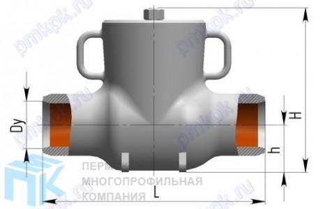 Клапан обратный и обратный затвор 4с-3-2