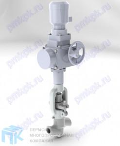 Клапан регулирующий игольчатый под электропривод 9с-5-4Э