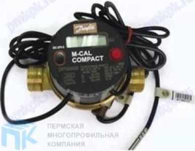 Механические компактные теплосчетчики Danfoss, серия M-Cal Compact 447
