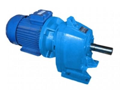 Мотор-редуктор цилиндрический двухступенчатый горизонтальный 1МЦ2У
