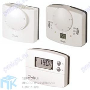 Комнатные термостаты Danfoss, серия RT, RET, TP, HC