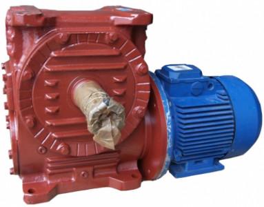 Мотор-редуктор червячный одноступенчатый МРЧ