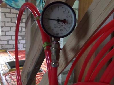 Опрессовка систем отопления, водоснабжения