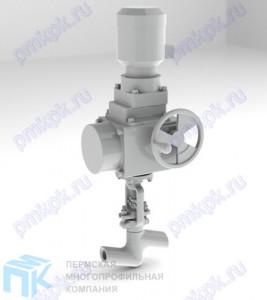 Вентиль запорно-проходной 1с-11-5МЭ
