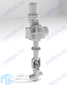 Вентиль запорно-проходной 1с-12-5Э