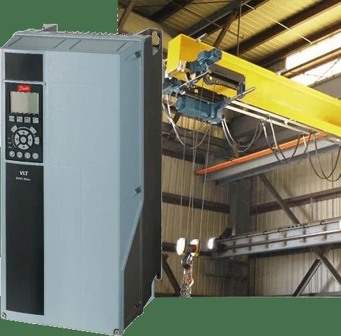 Модернизация кранов за счет перевода привода  на частотное регулирование