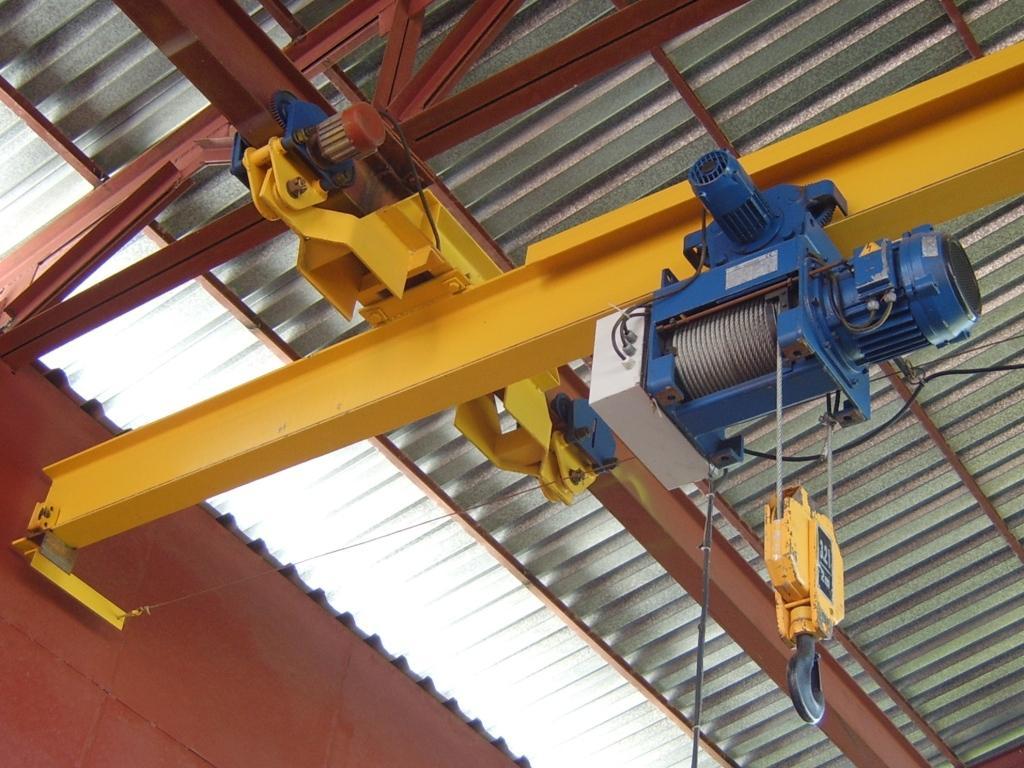 Замена двигателя на подъём и перемещение электрической тали
