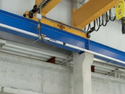 Перевод грузоподъёмного оборудования на троллеи закрытого типа шинопроводы