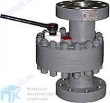 Задвижка стальная дисковая штуцерная ЗДШ 65-210